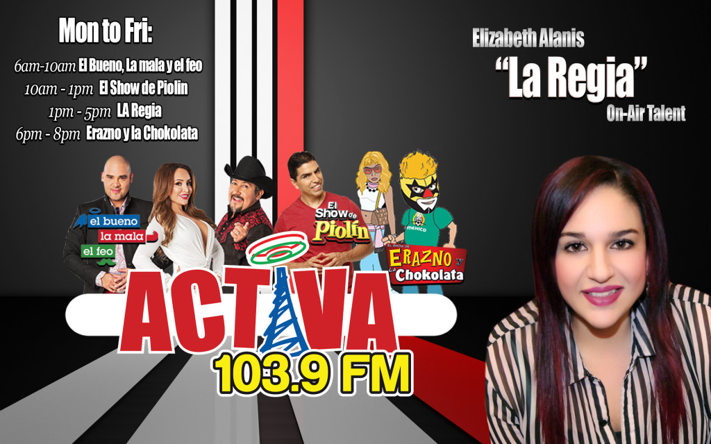 La Regia Air Talent Activa Greenville 103.9FM