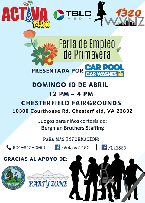 Feria de Empleo 2016 Richmond