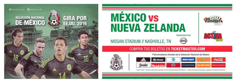 Mexico Soccer Activa & Ranchera
